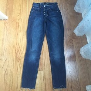 High waisted express jeans